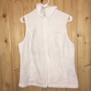 Columbia soft fleece vest